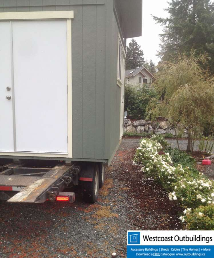 10 X 12 Contemporary Bellingham Garden Shed
