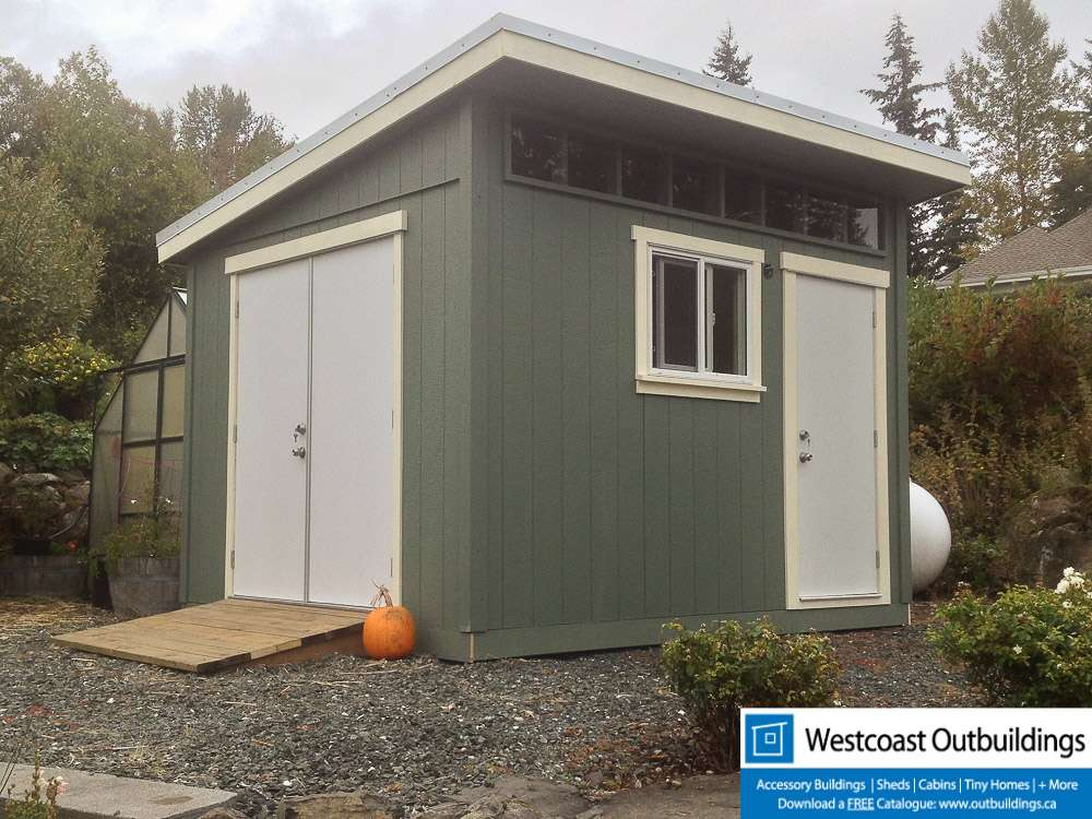 10 X 12 Contemporary Bellingham Garden Shed Westcoast