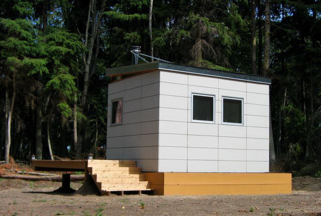 Modern Shed 10 X 12 Cabin Kit Prefab Forest Getway