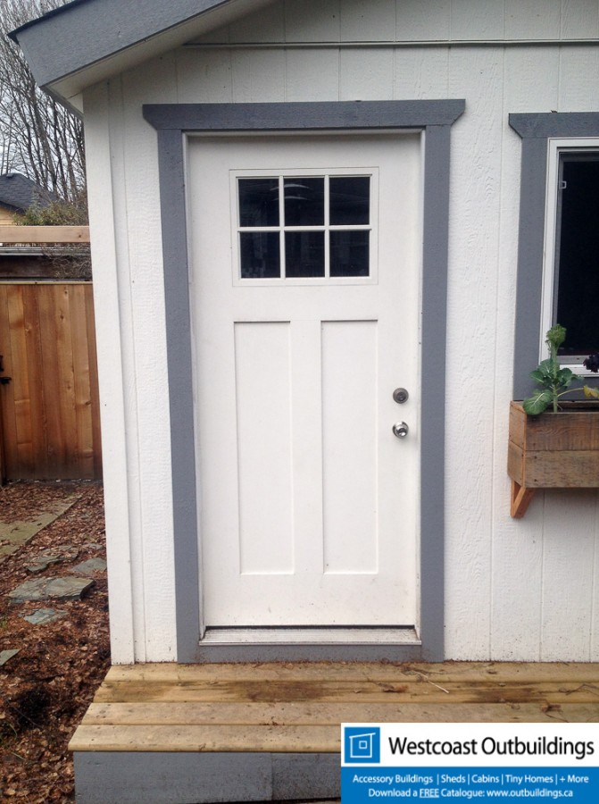 10x10 Craftsman Shed Westcoast Outbuildings