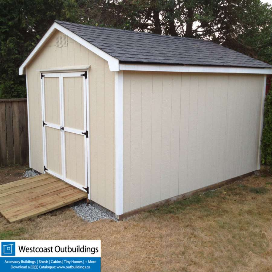 10 39 x12 39 west vancouver shed prefab garden shed for Prefab garden sheds