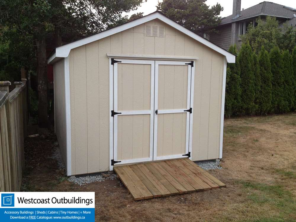 10 X12 West Vancouver Shed Prefab Garden Shed