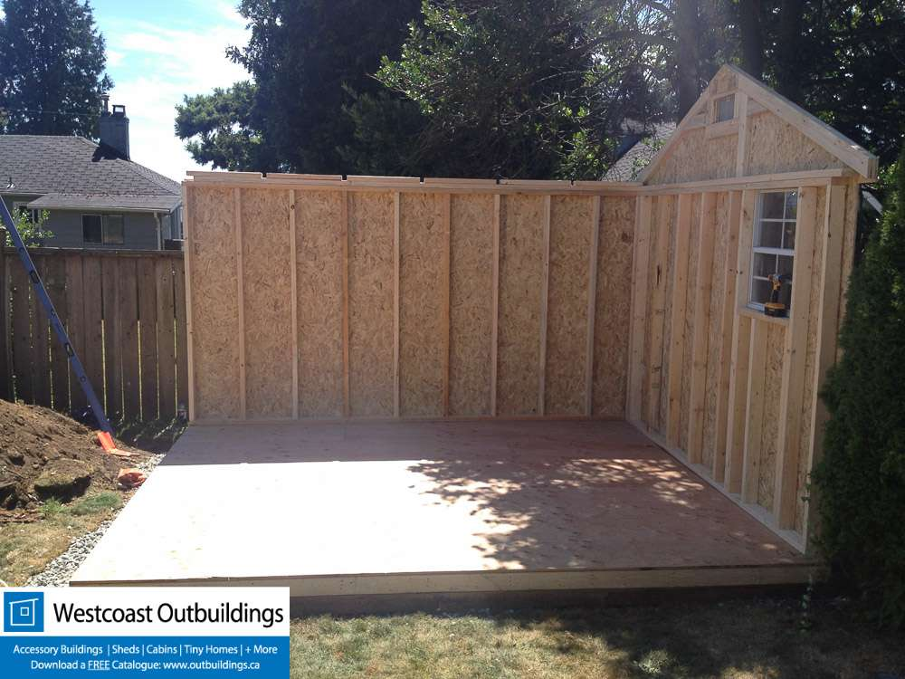 x west vancouver shed prefab garden shed - Garden Sheds Vancouver