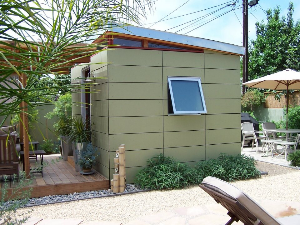 10x12 Backyard Office With Trelis Westcoast Outbuildings