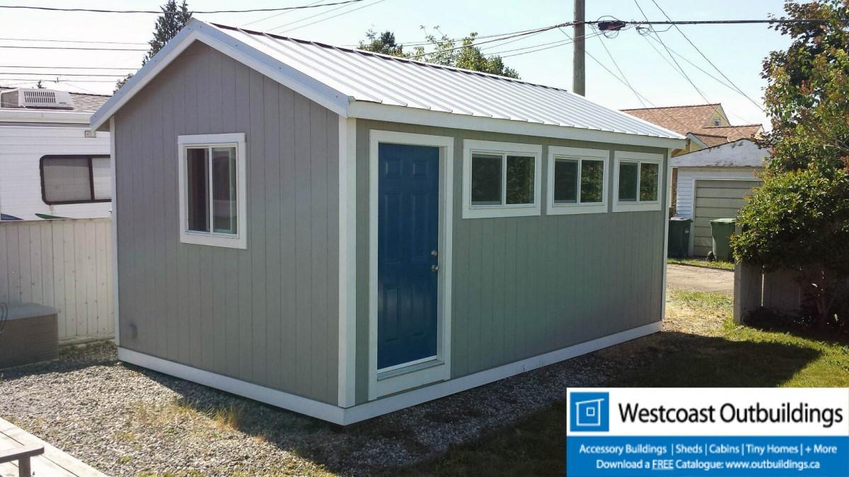 12x20 vancouver modular garage by westcoast outbuildings Modular 3 car garage