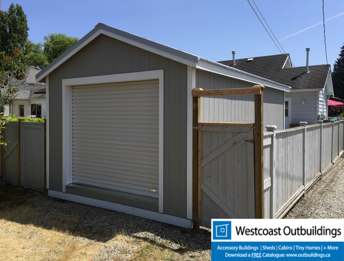 12x20 Vancouver Modular Garage By Westcoast Outbuildings