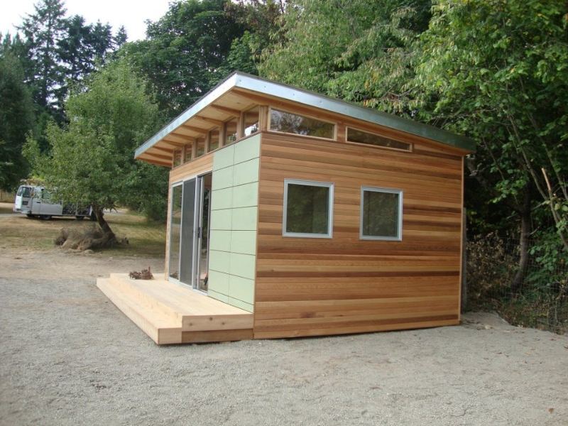 Best 25 Shed Plans Ideas On Pinterest Small Shed Plans Diy 4 in addition Pre Fab Shed Kit 12 X 16 Coastal moreover 21st Century Post And Beam Barn besides Inception Building A House On A Cliff together with Contemporary Oak Frame Design In Alexton. on modern outhouse plans