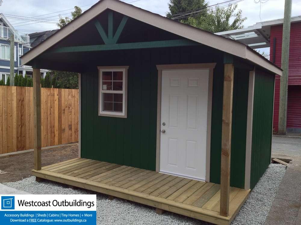 Backyard Cabin 8 X12 East Vancouver Westcoast