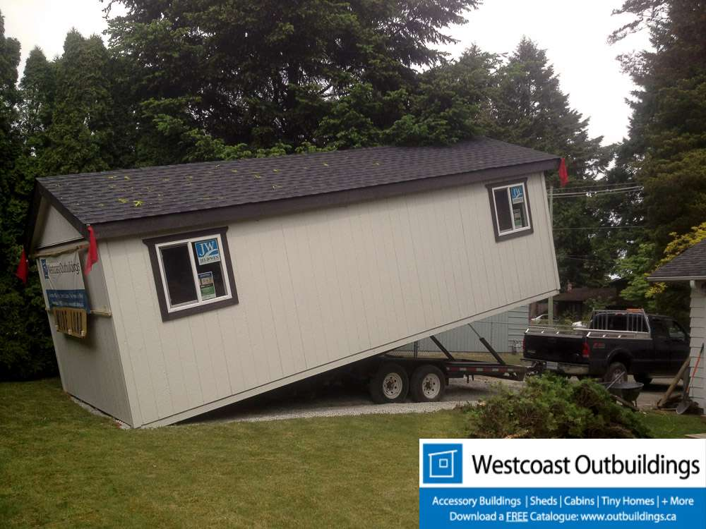 12 28 Garage : Surrey modular storage garage westcoast outbuildings