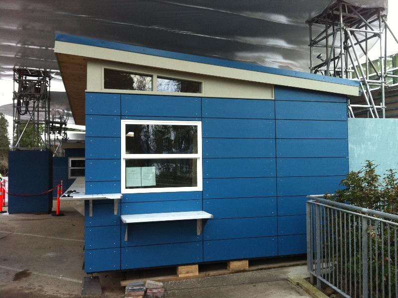 Custom Prefab Building Vancouver Aquarium 14 X 30