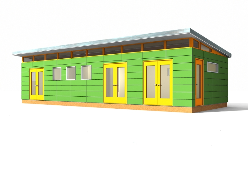 30x40 1920s style prefab garage joy studio design for Prefab garage california