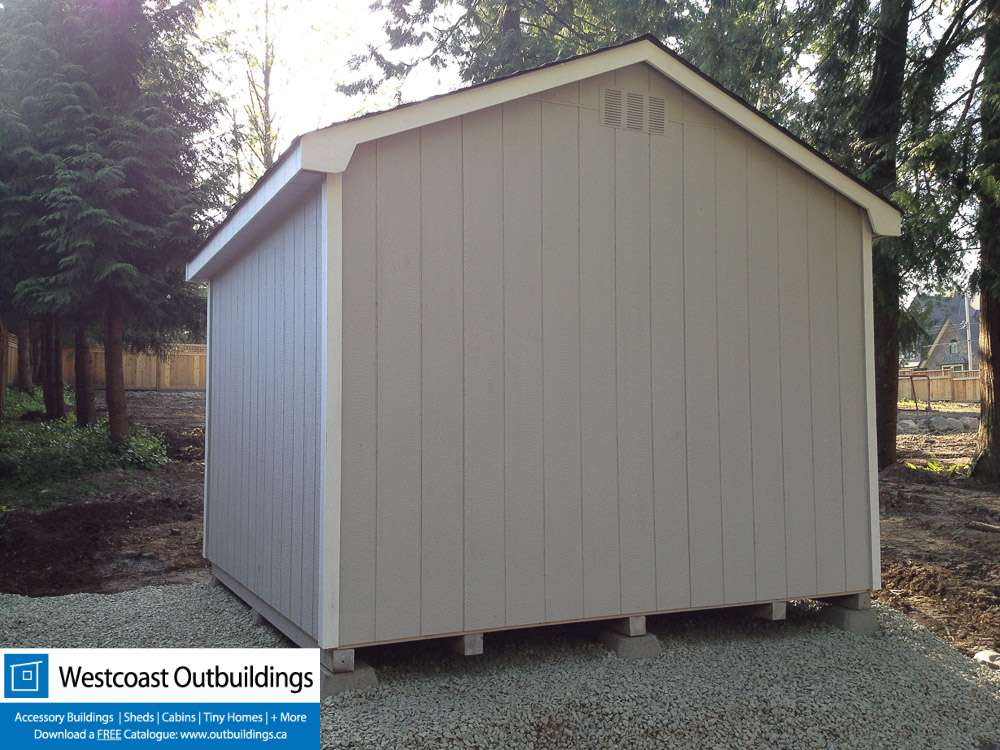 Langley Garden Shed 10x10 Gable Shed Westcoast