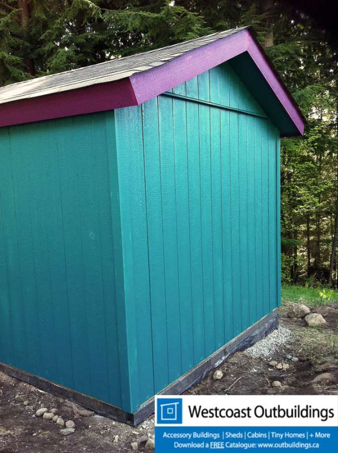 Port moody garden shed 10 x 10 westcoast outbuildings for Garden sheds canada