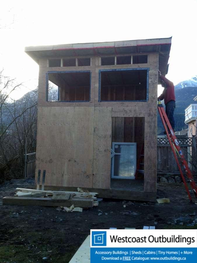 105 Sq Ft Backyard Office Loft In Squamish Bc