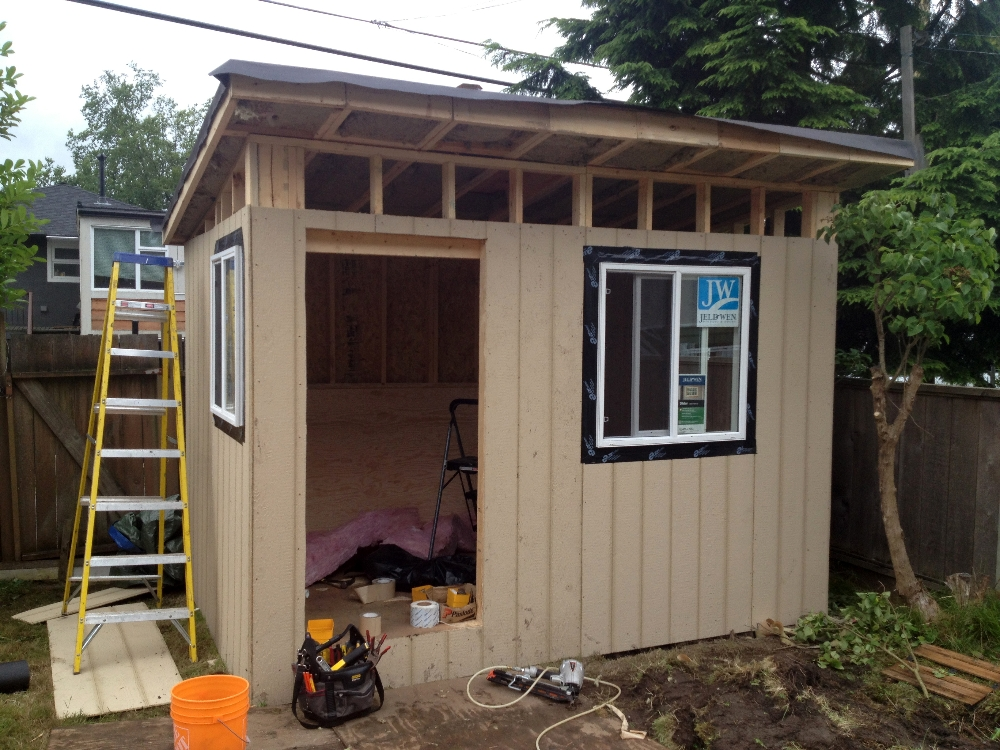 Vancouver Contemporary Shed Backyard Office Vancouver