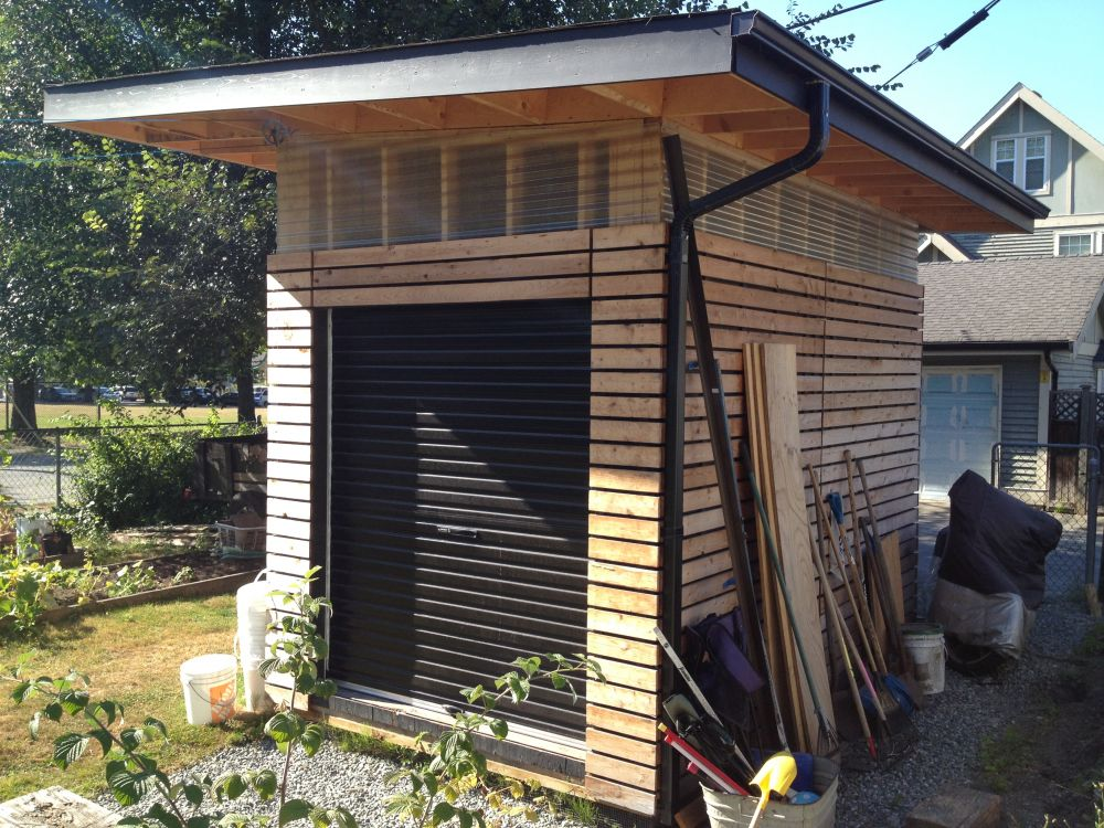 Cool Shed Overhead Garage Door Tips De Mateo Para