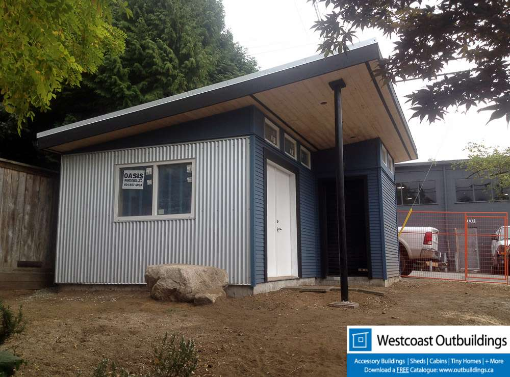 Sharty shed construction vancouver for Modular garage canada