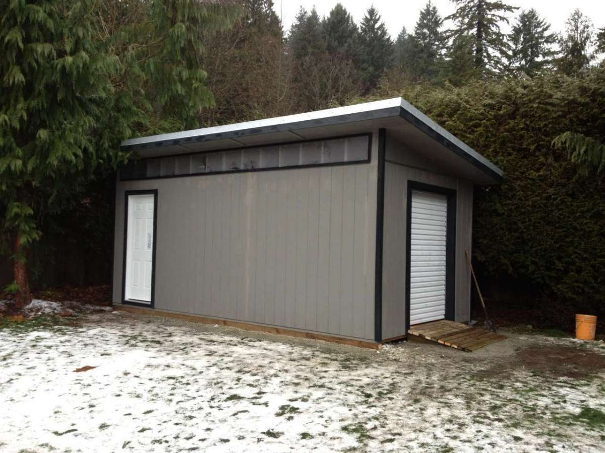 25 Unique Contemporary Storage Sheds