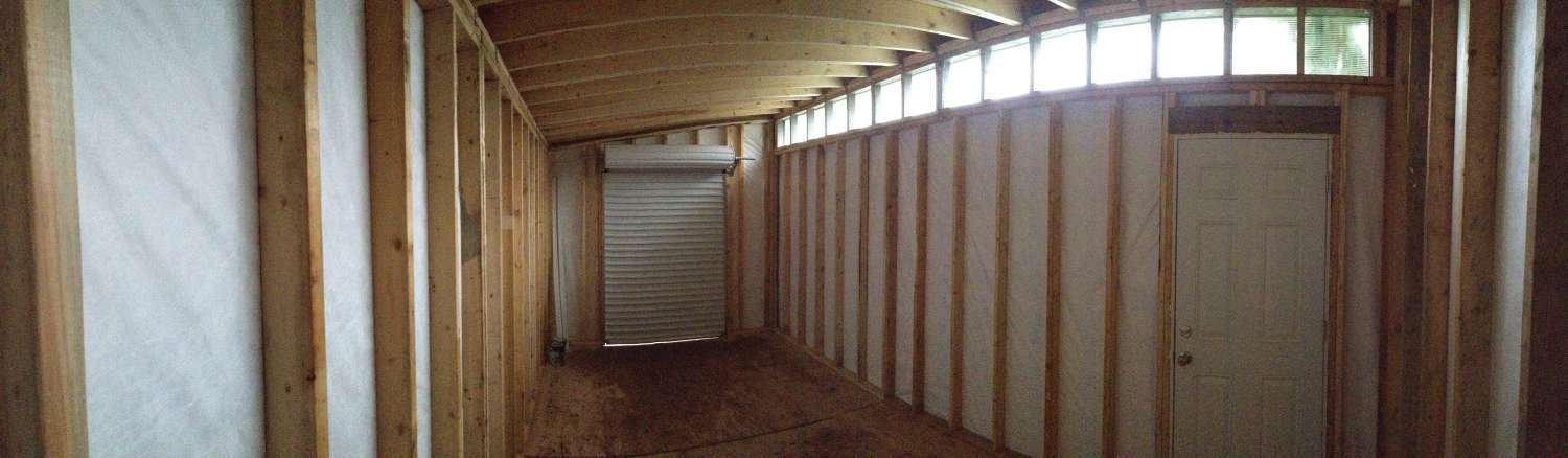 10 X 20 Contemporary Storage Shed