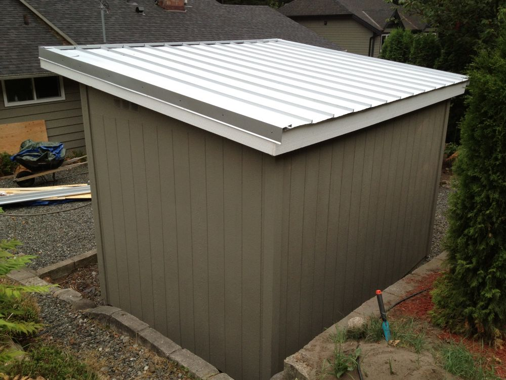 8 39 x 12 39 north vancouver contemporary garden shed for Garden sheds canada