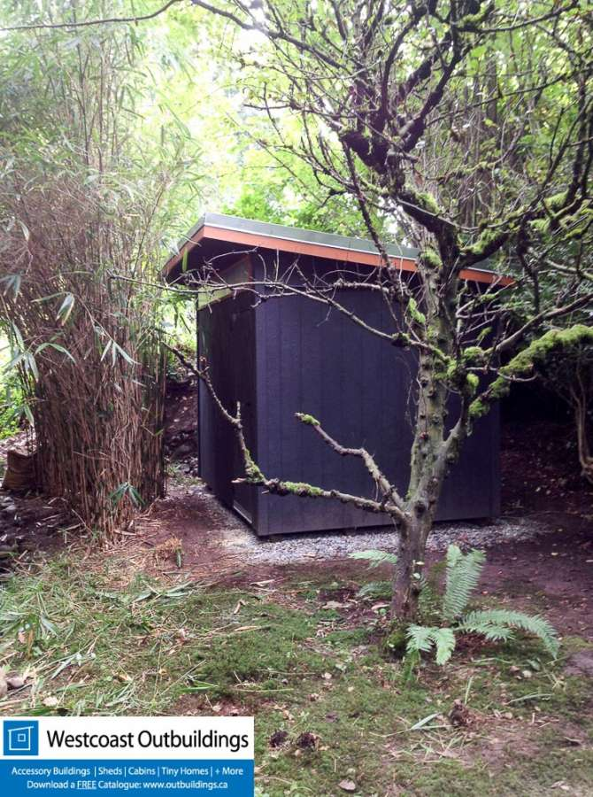 8 X 12 West Vancouver Garden Shed The Stealth Shed