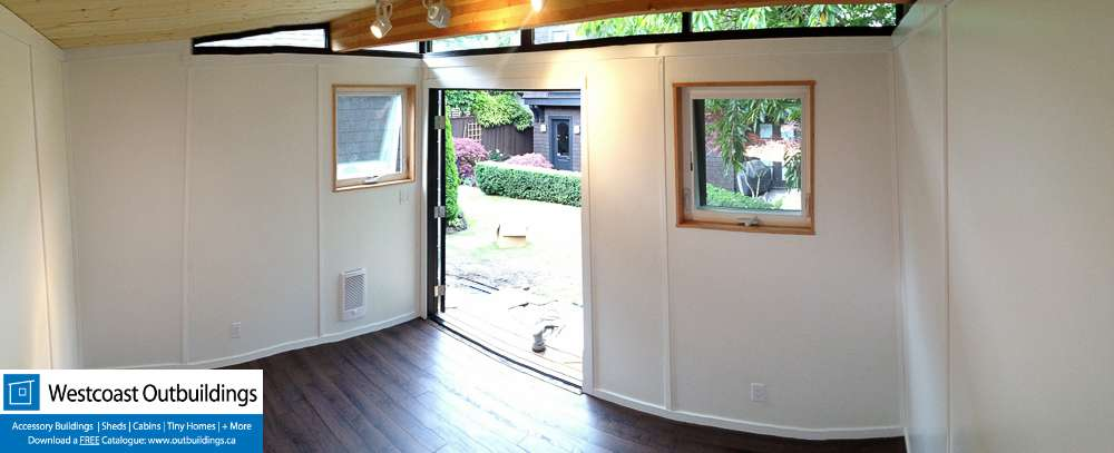 Backyard Workout Room  Point Grey  Metro Vancouver BC