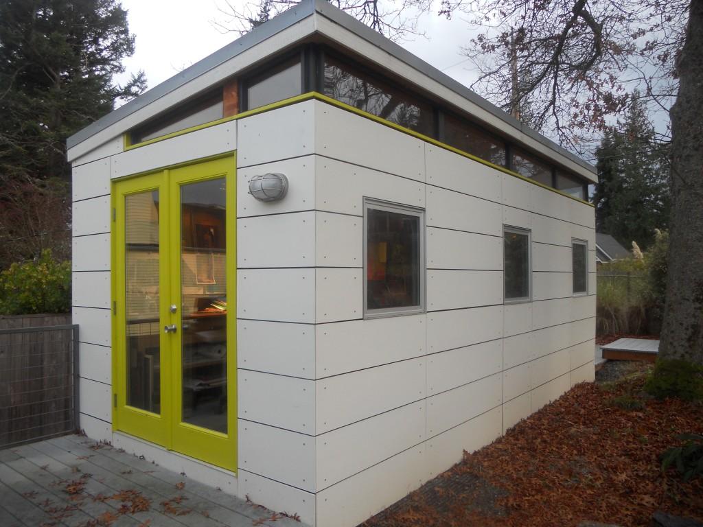 10 39 x 20 39 studio vashon island westcoast outbuildings for Modern outbuildings