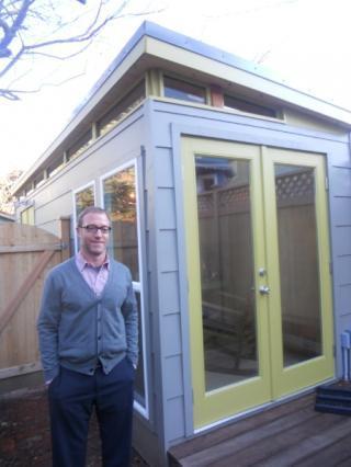 Backyard Office Kit by Modern-Shed