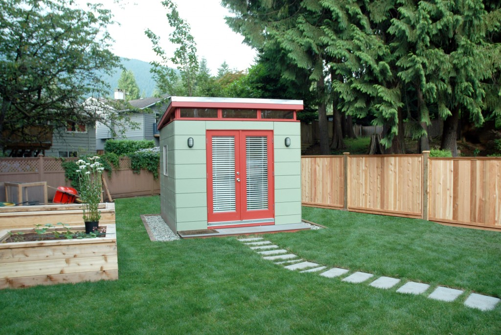 North Vancouver Backyard Office