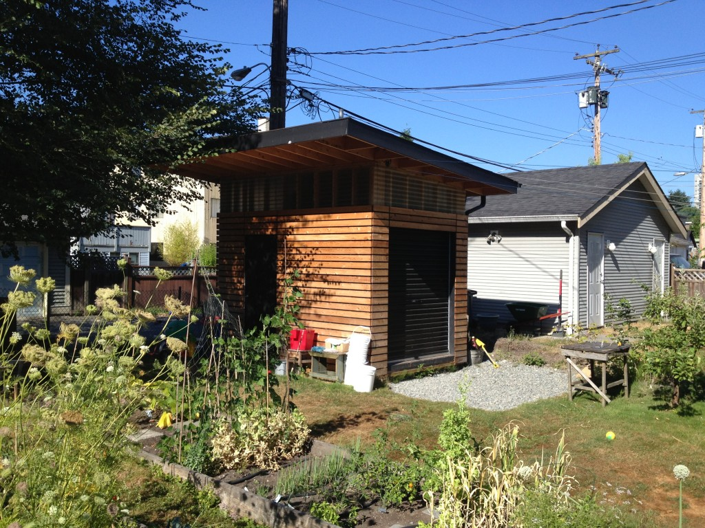 East Vancouver Shed