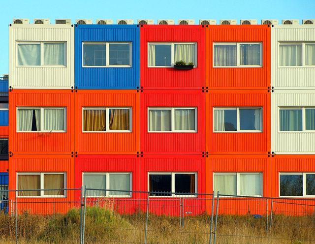 Amsterdam Shipping Container House