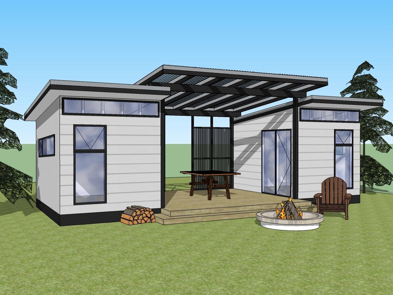 Gulf Island Cabins Prefab Cabins Delivered Escape The City