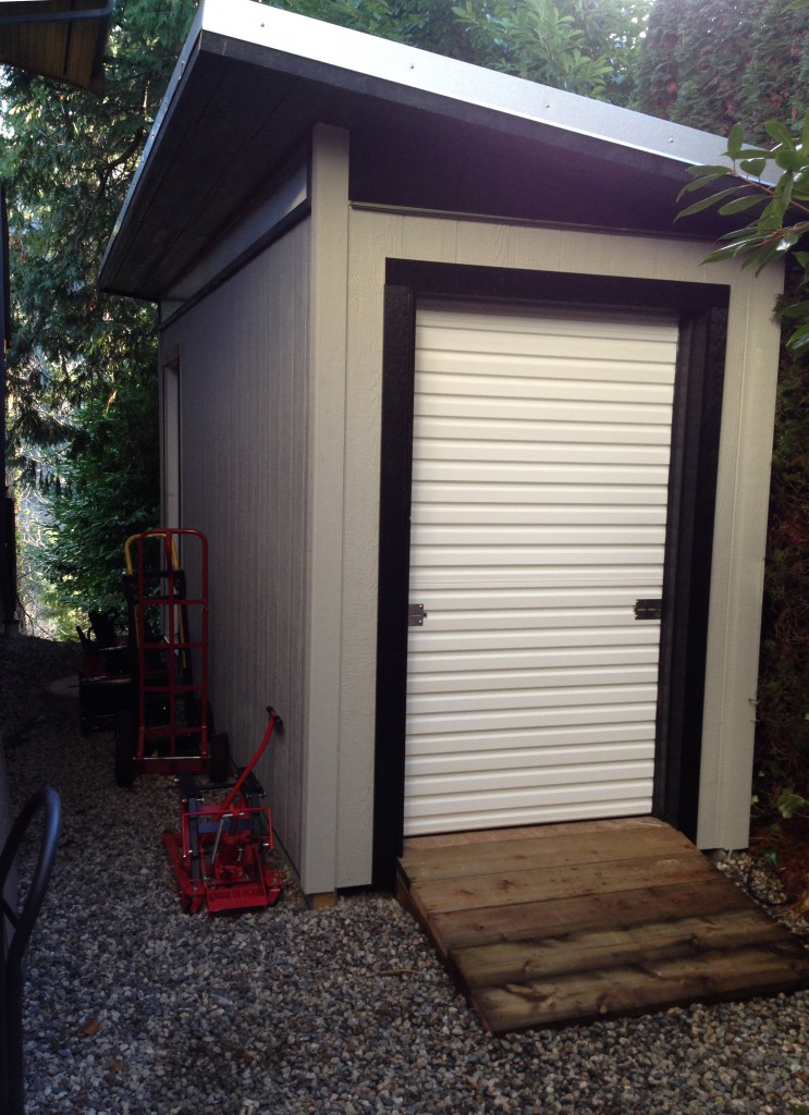 Contemporary Prefab Storage Shed