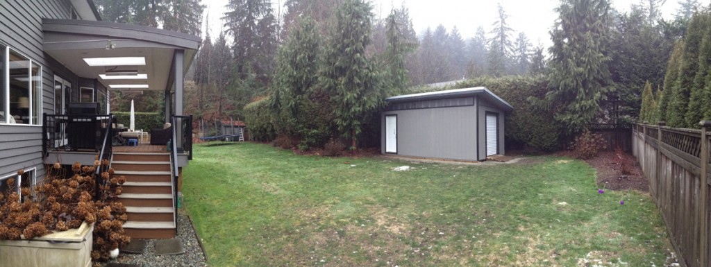 Contemporary Storage Shed