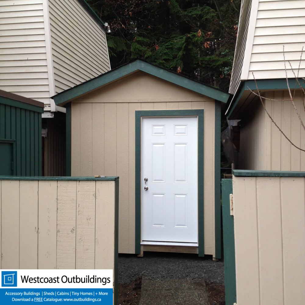 8x16 Gable Storage Shed