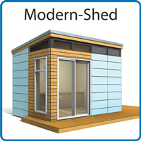 Modern-Shed Prefab Structures