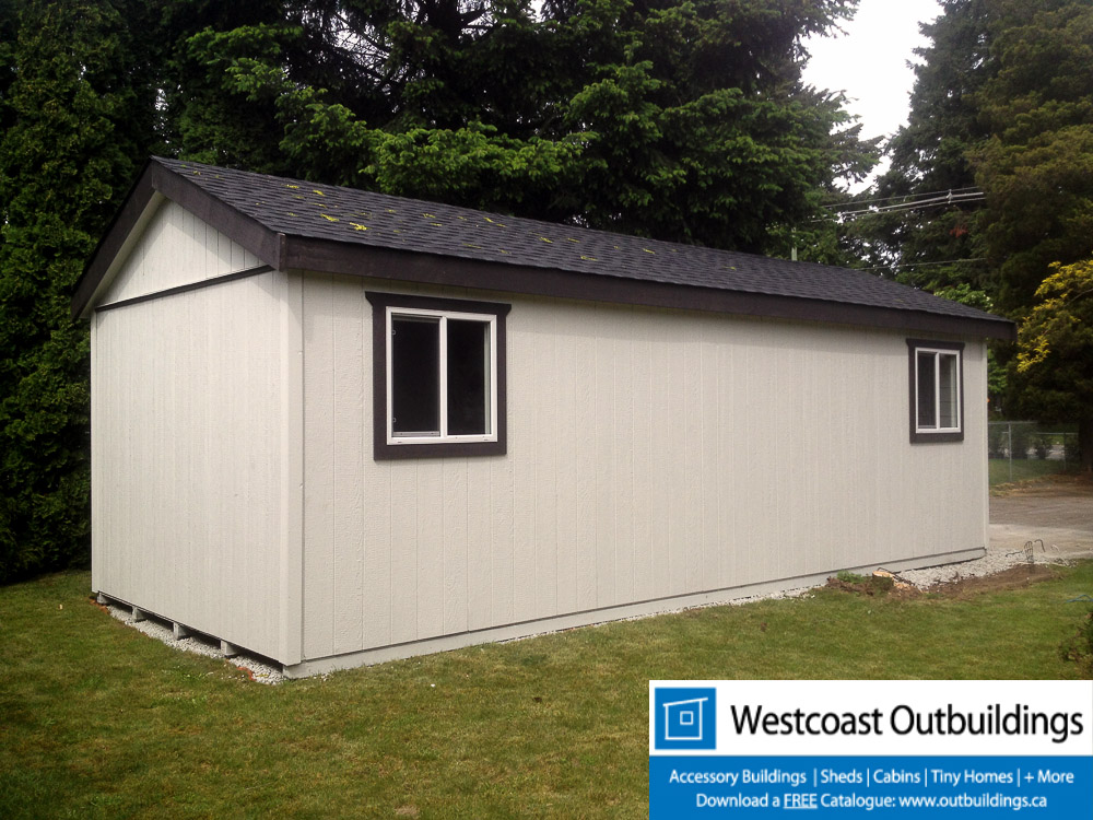 12 39 X 28 39 Modular Storage Shed Westcoast Outbuildings