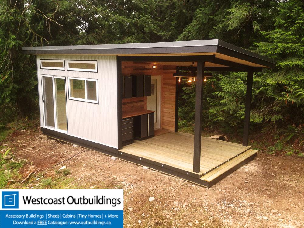 Galiano Island Cabin - 10'x24' Coastal Cabin