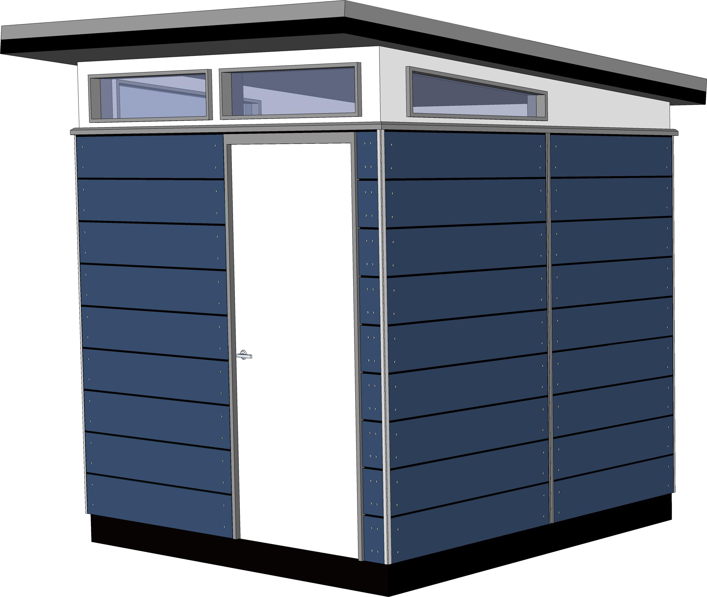 8x8 lifestyle series prefab outbuilding kit