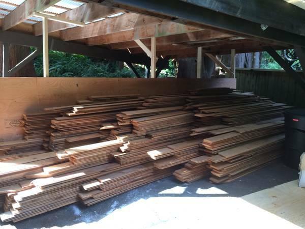 Reclaimed Cedar Siding