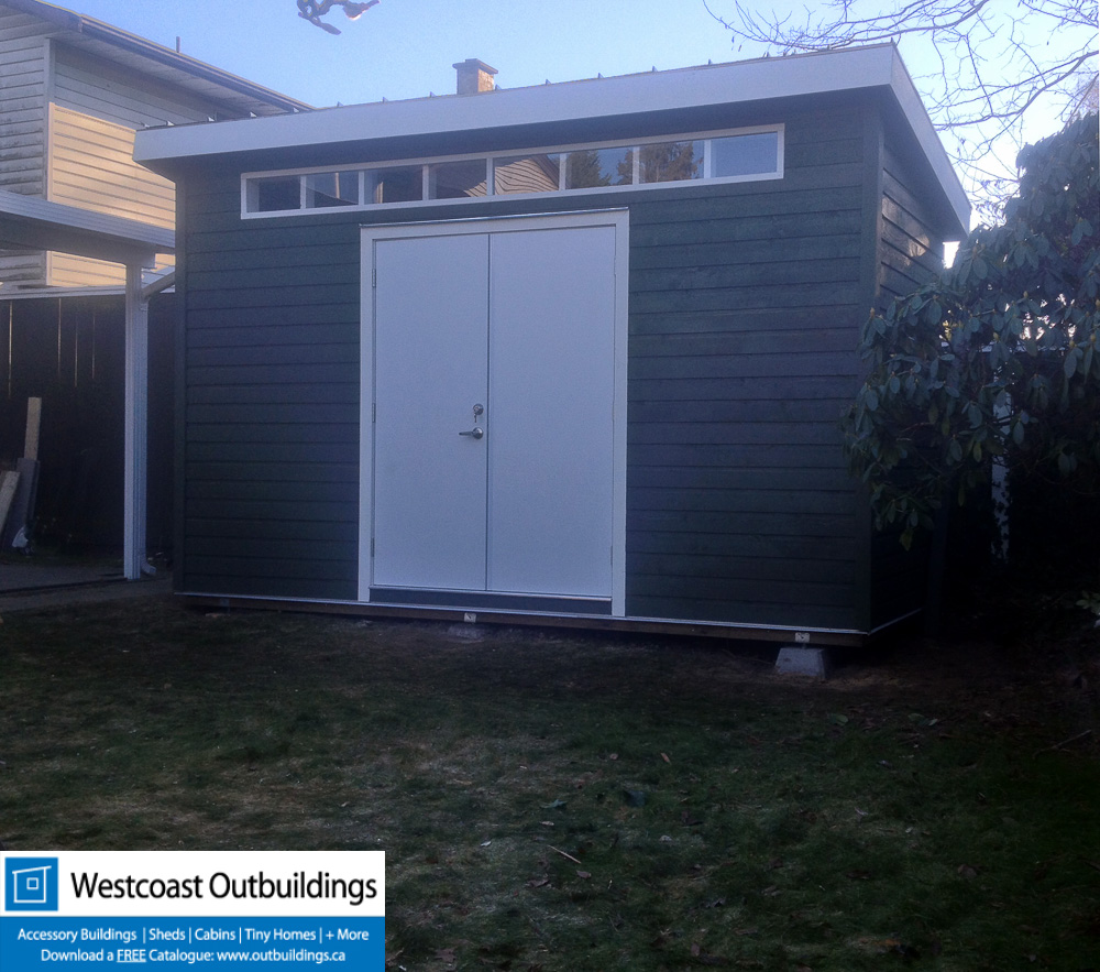 6'x14' Contemporary Shed - Delta BC