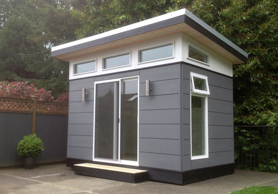 8' x 12' Lifestyle Outbuildings: Backyard Office