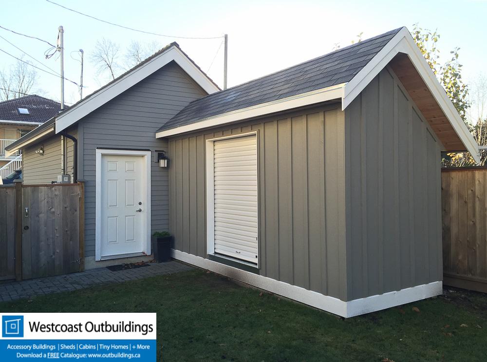 6x16 saltbox storage shed for Custom storage sheds