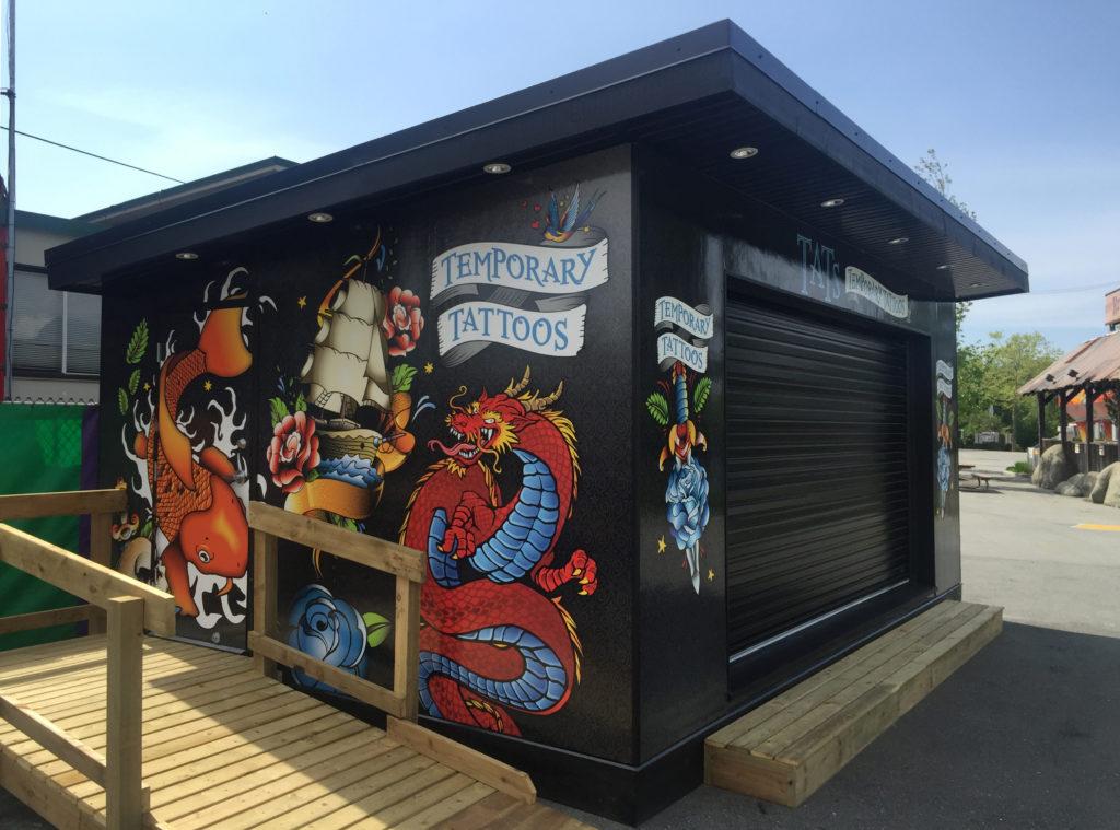 PNE Modular Sales Kiosk